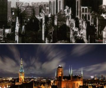 Frumusetea unui oras renascut dupa razboaie