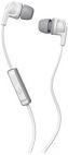Casti Stereo SkullCandy Smokin Buds2 S2PGJY-560, Jack 3.5mm, Microfon (Gri/Alb)