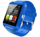 Smartwatch iUni U8+, Capacitive touchscreen, Bluetooth, Bratara silicon (Albastru)