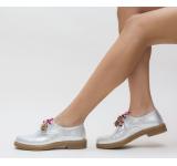 Pantofi Casual Tehno Argintii > Noua colectie este aici