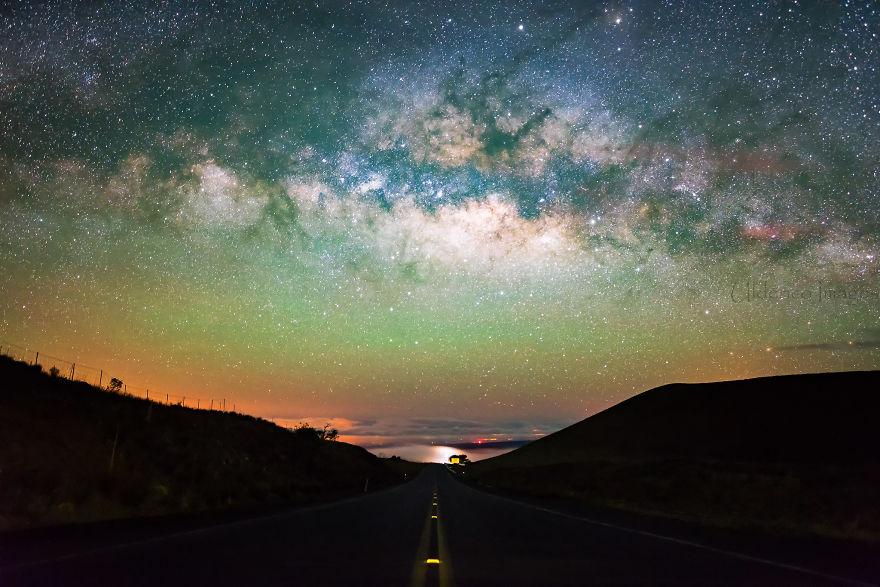 Lumina noptii: Un dans al Caii Lactee, in miezul verii - Poza 9