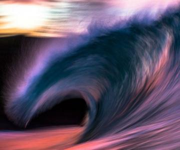 Toanele oceanului: Frumusetea valurilor, in poze superbe