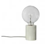 Lampa de birou Bristol White / Marble