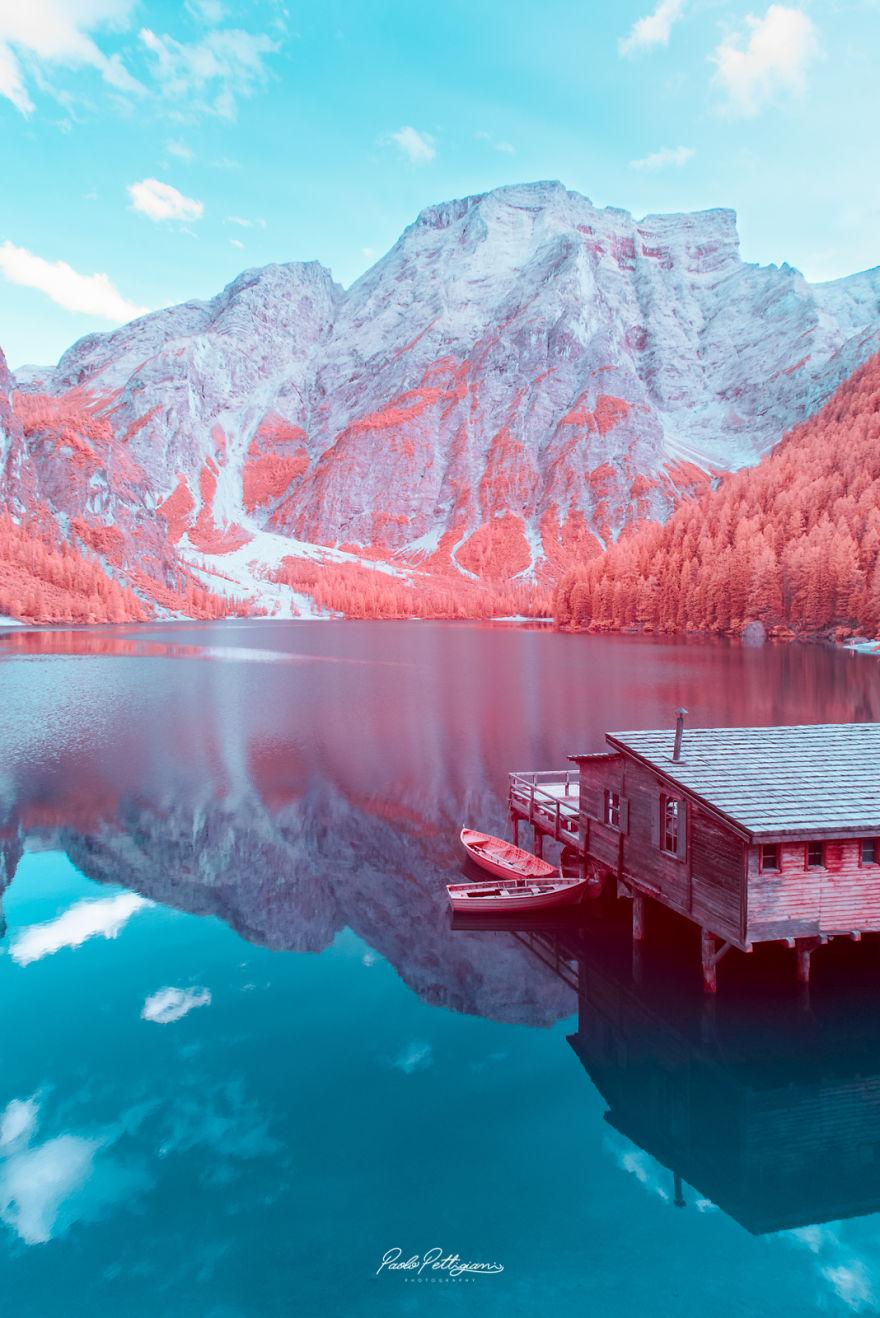Lumea in infrarosu, intr-un set de fotografii superbe - Poza 4
