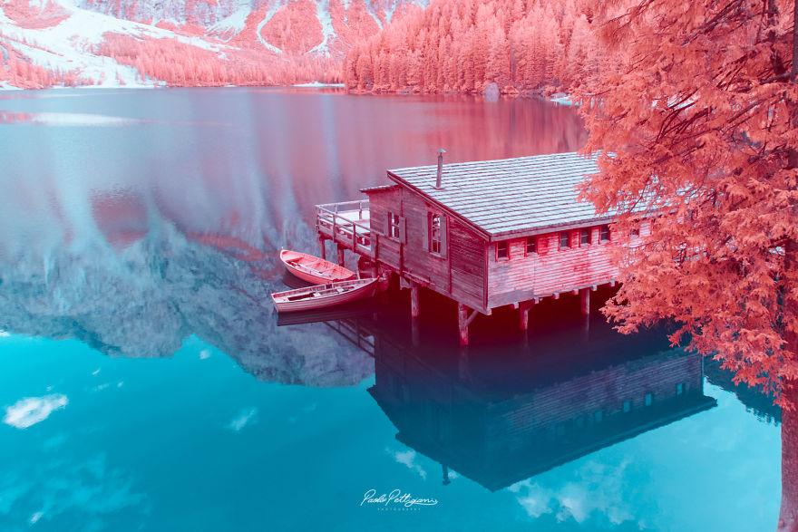 Lumea in infrarosu, intr-un set de fotografii superbe - Poza 23