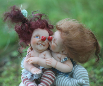 Papusi realiste superbe, de Elena Kirilenko