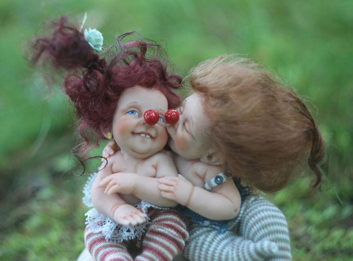 Papusi realiste superbe, de Elena Kirilenko - Poza 1