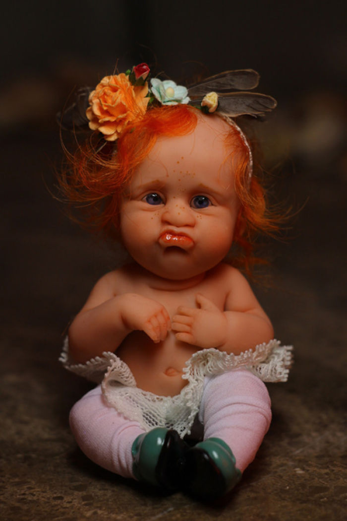 Papusi realiste superbe, de Elena Kirilenko - Poza 4