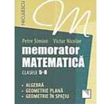 Memorator. Matematica pentru clasele 5-8. Algebra. Geometrie plana. Geometrie in spatiu.