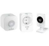 Kit casa inteligenta D-Link DCH-100KT (Senzor de miscare, Priza inteligenta, Camera de supraveghere)