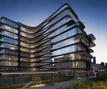 High Line, primul concept Zaha Hadid la New York