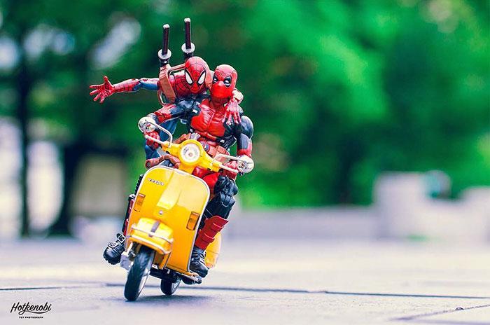 Supereroi adusi la viata, in ipostaze haioase - Poza 13
