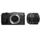 Aparat Foto Mirrorless Olympus E-P5 (Negru), cu Obiectiv 14-42mm II R, Filmare Full HD, 17.2MP