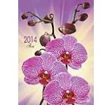 Calendar de perete 2014 cu flori