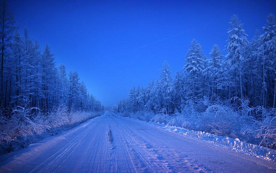 Viata la -50 de grade Celsius, in imagini sublime - Poza 6