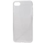 Protectie spate Lemontti LEMSILSLIMIPH7CL Silicon Ultraslim pentru Apple iPhone 7/7S (Transparent)