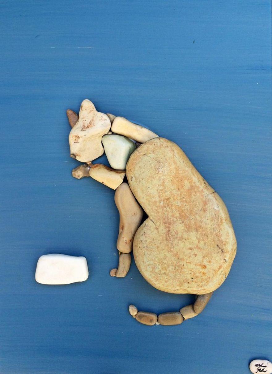 Creatii artistice cu pietre - Poza 6