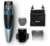 Aparat de tuns barba cu aspirator PHILIPS BT7210/15, 20 setari lungime, Led (Argintiu)