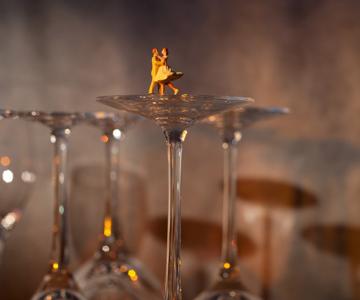 Teatru-foto cu miniaturi, de Audrey Heller