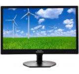 Monitor IPS LED Philips 21.5inch 221S6QYMB, Full HD (1920 x 1080), VGA, DVI, DisplayPort, 5 ms, Boxe, Pivot (Negru)