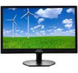 Monitor IPS LED Philips 21.5inch 221S6QYMB, Full HD (1920 x 1080), VGA, DVI, DisplayPort, 5 ms, Boxe, Pivot (Negru)