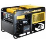 Generator Curent Electric Kipor KDE 16 EA3, 15.0 kVA, Motor 3 cilindrii in linie, 4 timpi, aspiratie, cadru deschis, Diesel, Autonomie 8 ore