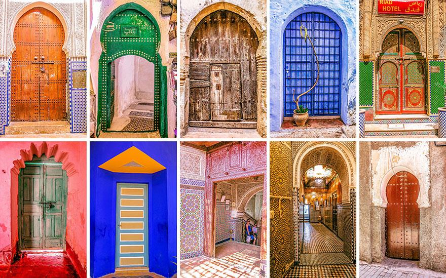 Usile multicolore ale Marocului - Poza 3