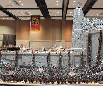 Lord of the Rings din 150.000 de piese LEGO