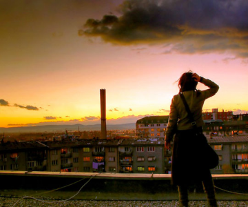 Blerta Zabergja e Alice in Kosovo, la inaltime