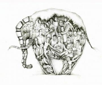 Desene din Rusia, trimise de Sergei Arkhipov