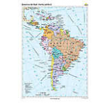 America de Sud. Harta politica