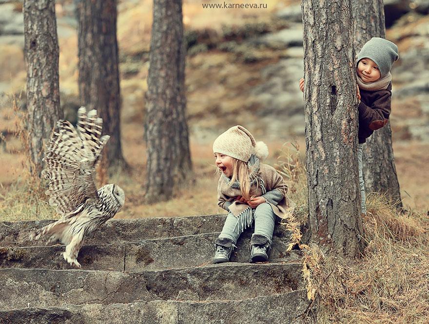 Melancolia iernilor din copilarie, in poze superbe - Poza 3