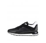 Pantofi sport negru & alb Geox Shahira