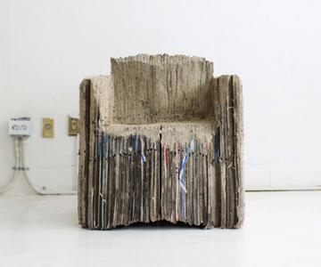 Eco-canapeaua din 127 de cutii de carton