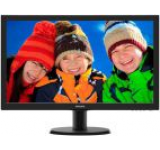 Monitor LED Philips 23inch 233V5LHAB, Full HD (1920 x 1080), HDMI, Boxe (Negru)