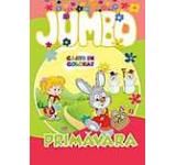 Jumbo - Primavara. Carte de colorat