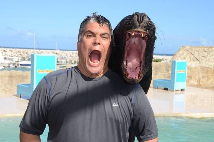 20+ Animale poznase care se stramba in fata aparatului foto - Poza 15