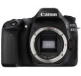 Aparat Foto DSLR Canon EOS 80D, Body, 24 MP, Full HD, WiFi (Negru)