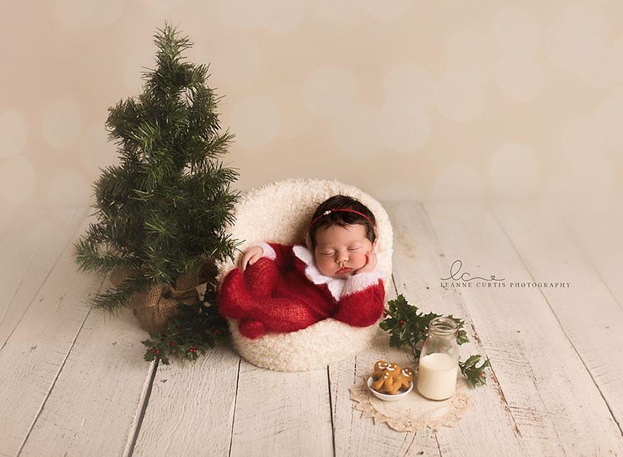 15+ Bebelusi adorabili in asteptarea Craciunului - Poza 4