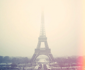 Parisul in iarna via Cherry Blossom Girl