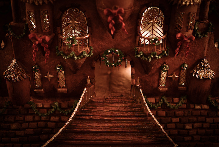 Exact ca in povesti: Cel mai frumos castel din turta dulce - Poza 2