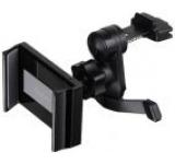 Suport auto Thermaltake Luxa 2 HO-MHS-PCVCBK-00, pentru telefoane de la 3.5 inch pana la 6 inch, prindere de orificiul de aerisire (Negru)