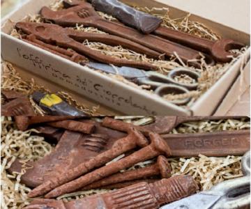 Arta, dulce arta: Creatii delicioase din ciocolata