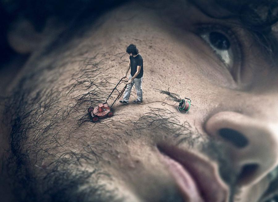 O realitate distorsionata, in poze care ne pun pe ganduri - Poza 2