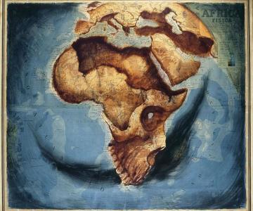 Fernando Vicente picteaza pe harti