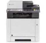Multifunctional Kyocera ECOSYS M5521cdw, laser color, Fax, A4, 21 ppm, Duplex, ADF, Retea, Wireless