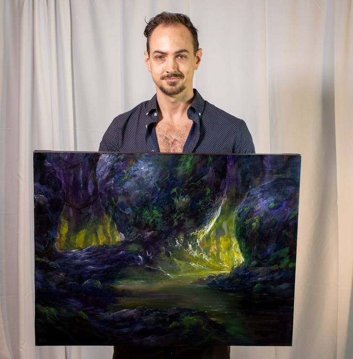Creatii ale pictorilor amatori demne de a fi expuse in marile muzee - Poza 8