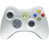 Gamepad Microsoft XBOX 360 Wireless Controller (Alb)
