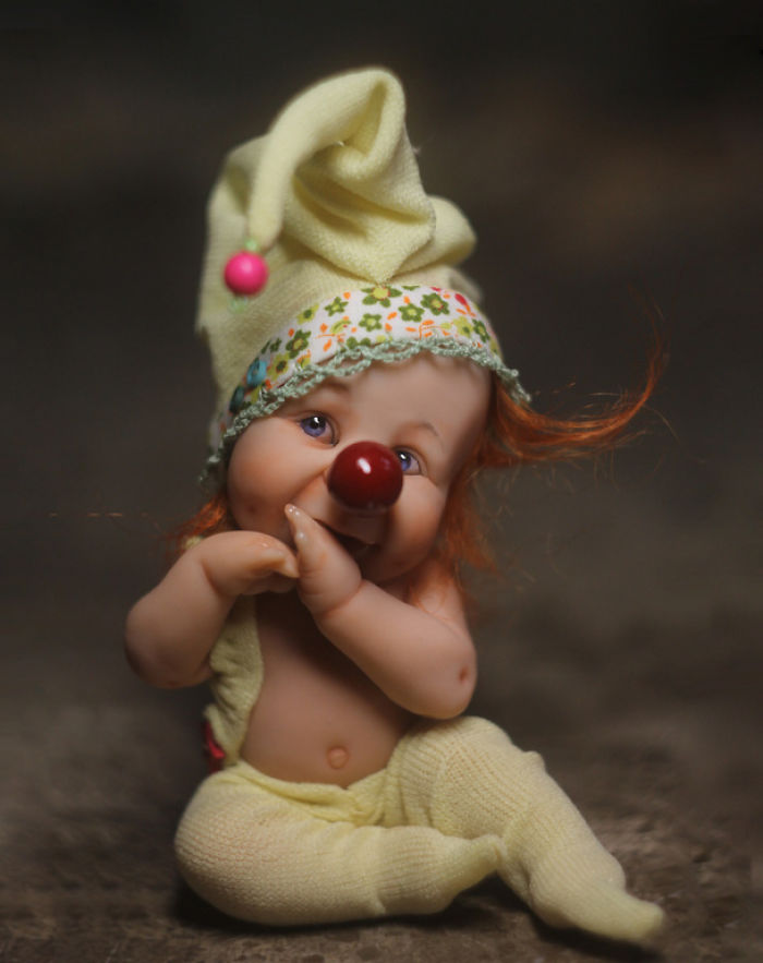 Papusi realiste superbe, de Elena Kirilenko - Poza 15
