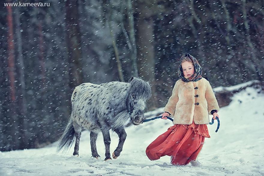 Melancolia iernilor din copilarie, in poze superbe - Poza 14